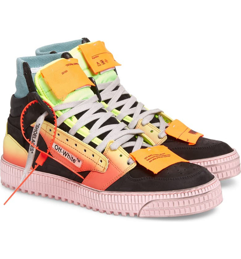OFF-WHITE Off Court Sneaker, Main, color, BLACK MULTI COLOR