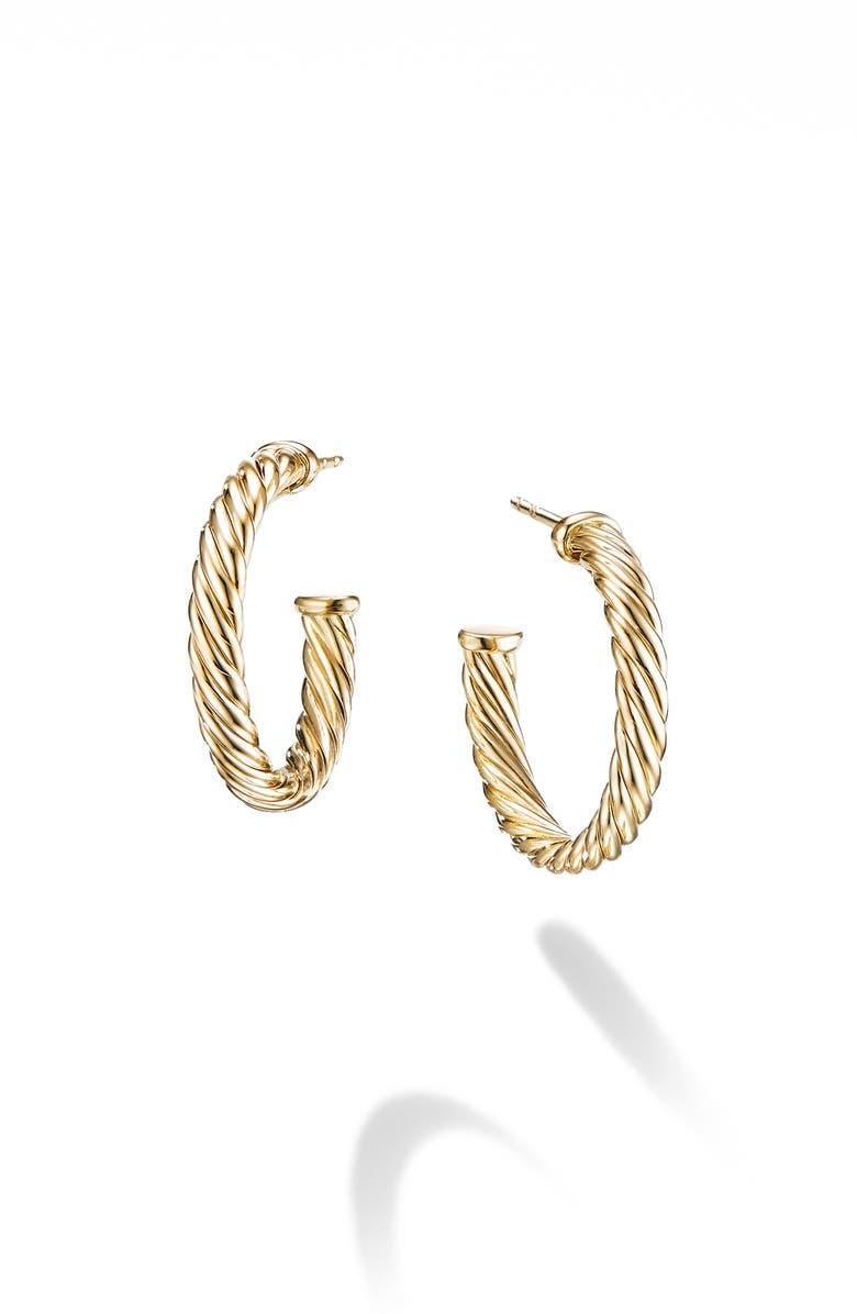 David Yurman Cable Loop Hoop Earrings
