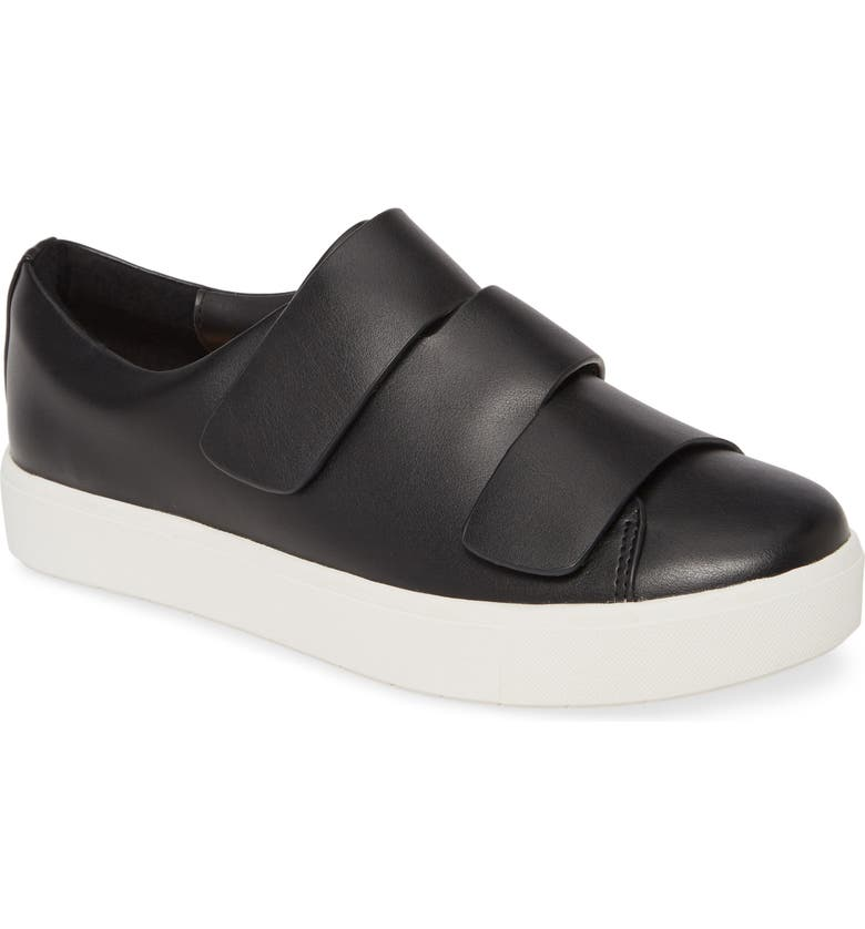 SILENT D Verges Sneaker, Main, color, BLACK ACTION LEATHER