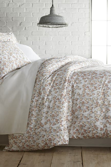 Image of SOUTHSHORE FINE LINENS Full/Queen Premium Collection Ultra-Soft 300 Thread-Count Cotton Duvet Cover Sets - Forevermore Blush