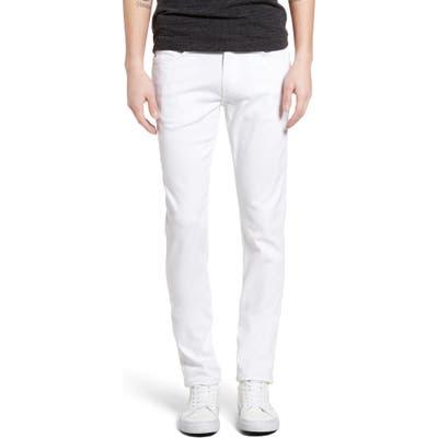 Paige Transcend - Lennox Slim Fit Jeans, White