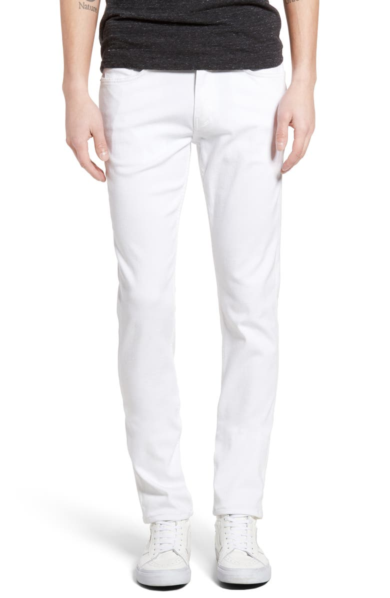 PAIGE Transcend - Lennox Slim Fit Jeans, Main, color, ICECAP