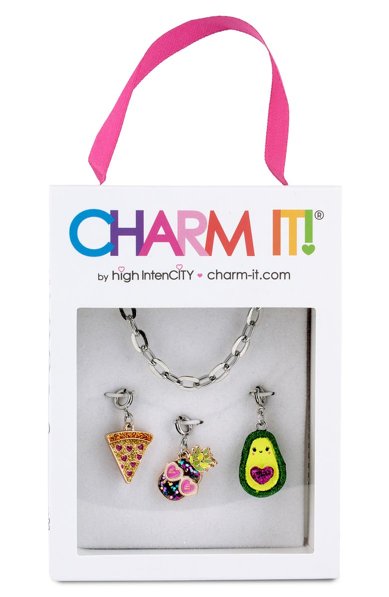 CHARM IT!<SUP>®</SUP> Yum Charm Bracelet Gift Set, Main, color, 020
