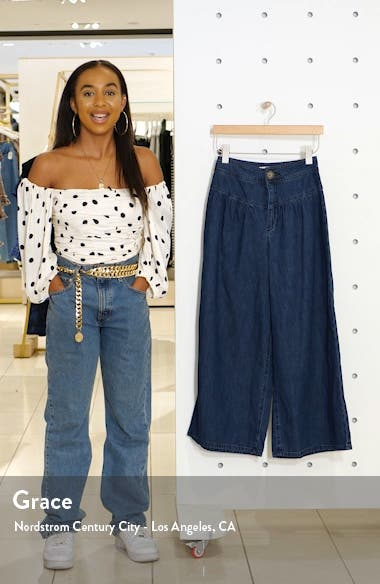 La Bomba Wide Leg Jeans, sales video thumbnail