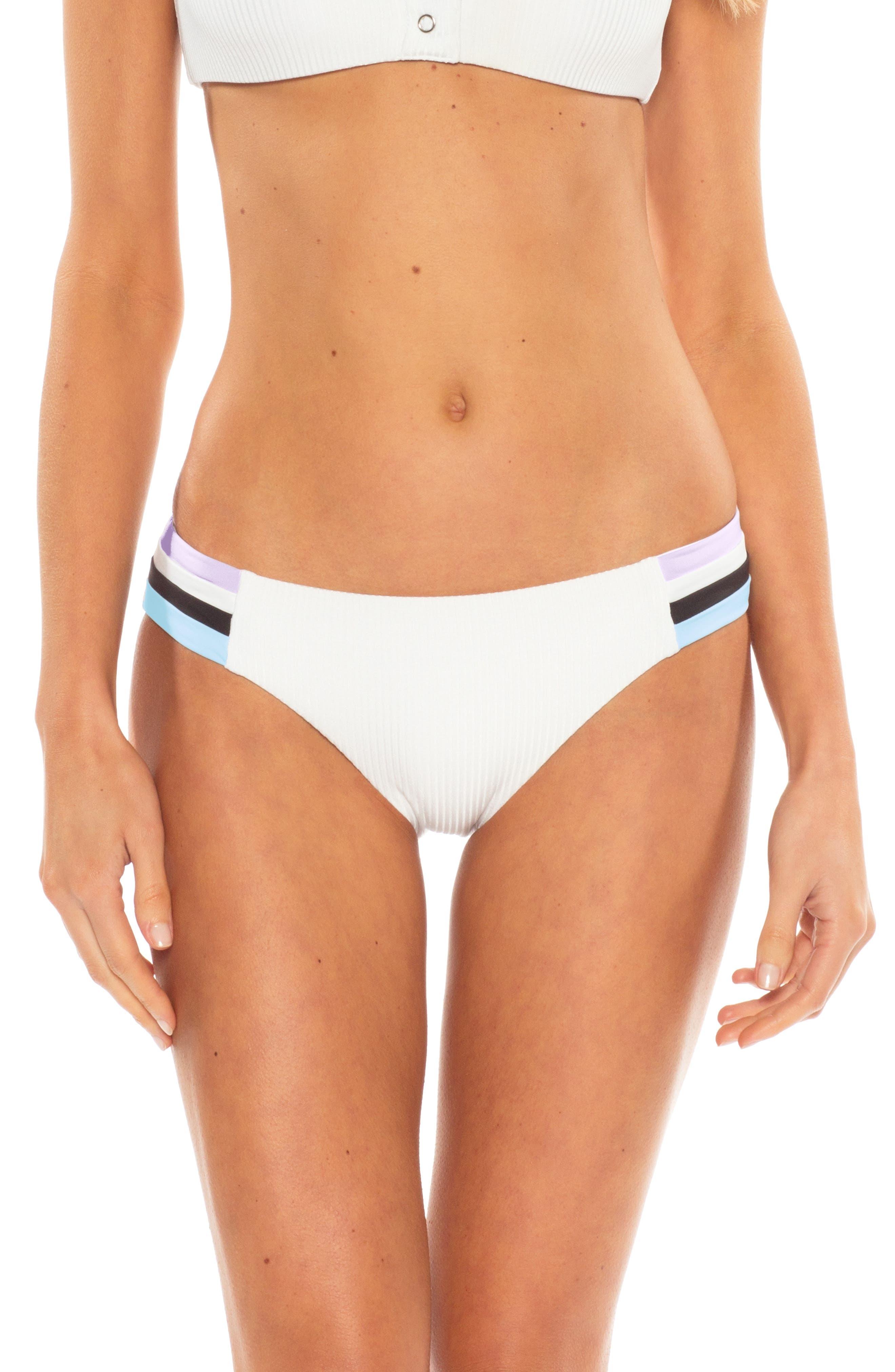 Becca Refine Bikini Bottoms, White