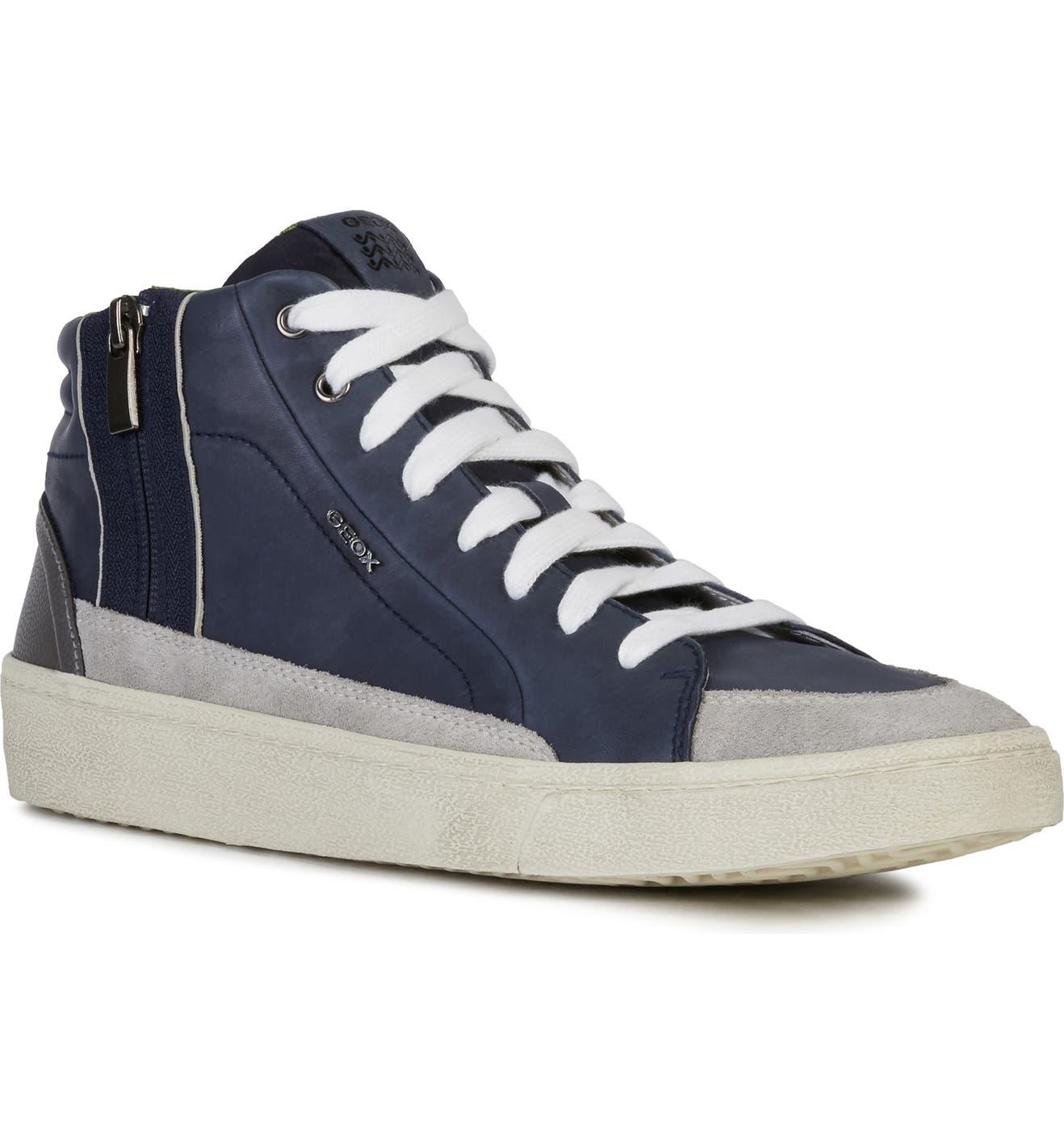 Geox Warley 8 High Top Sneaker (Men) | Nordstrom