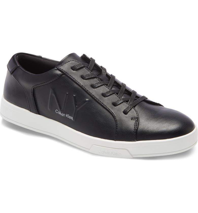 CALVIN KLEIN Boone Sneaker, Main, color, BLACK