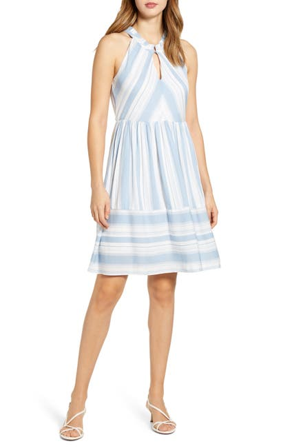 Image of Gibsonlook Cape May Stripe Dress