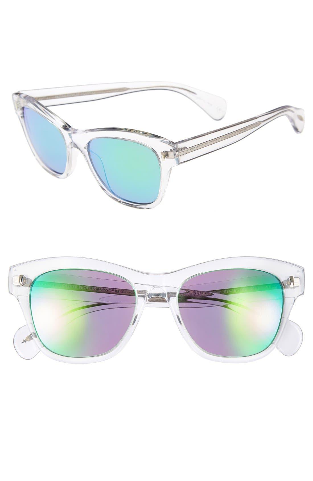 ,                             'Sofee' 53mm Retro Sunglasses,                             Main thumbnail 8, color,                             960