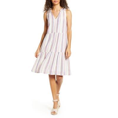 Tommy Bahama String Of Silver Dress, Beige