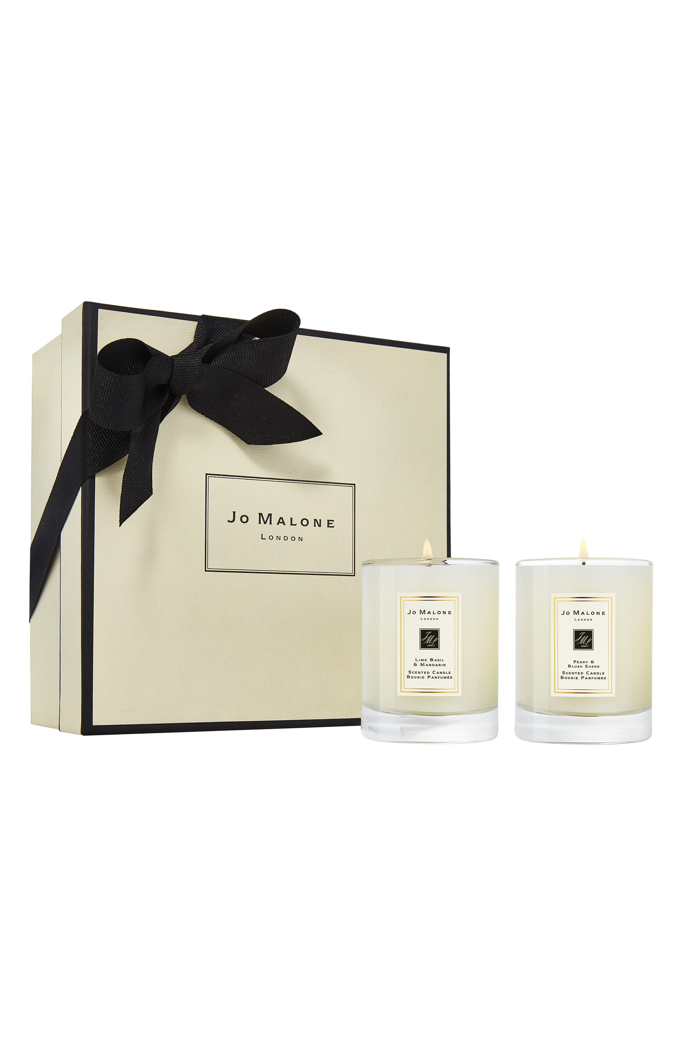 ,                             Lime Basil & Mandarin and Peony & Blush Suede Travel Candle Duo,                             Alternate thumbnail 2, color,                             000