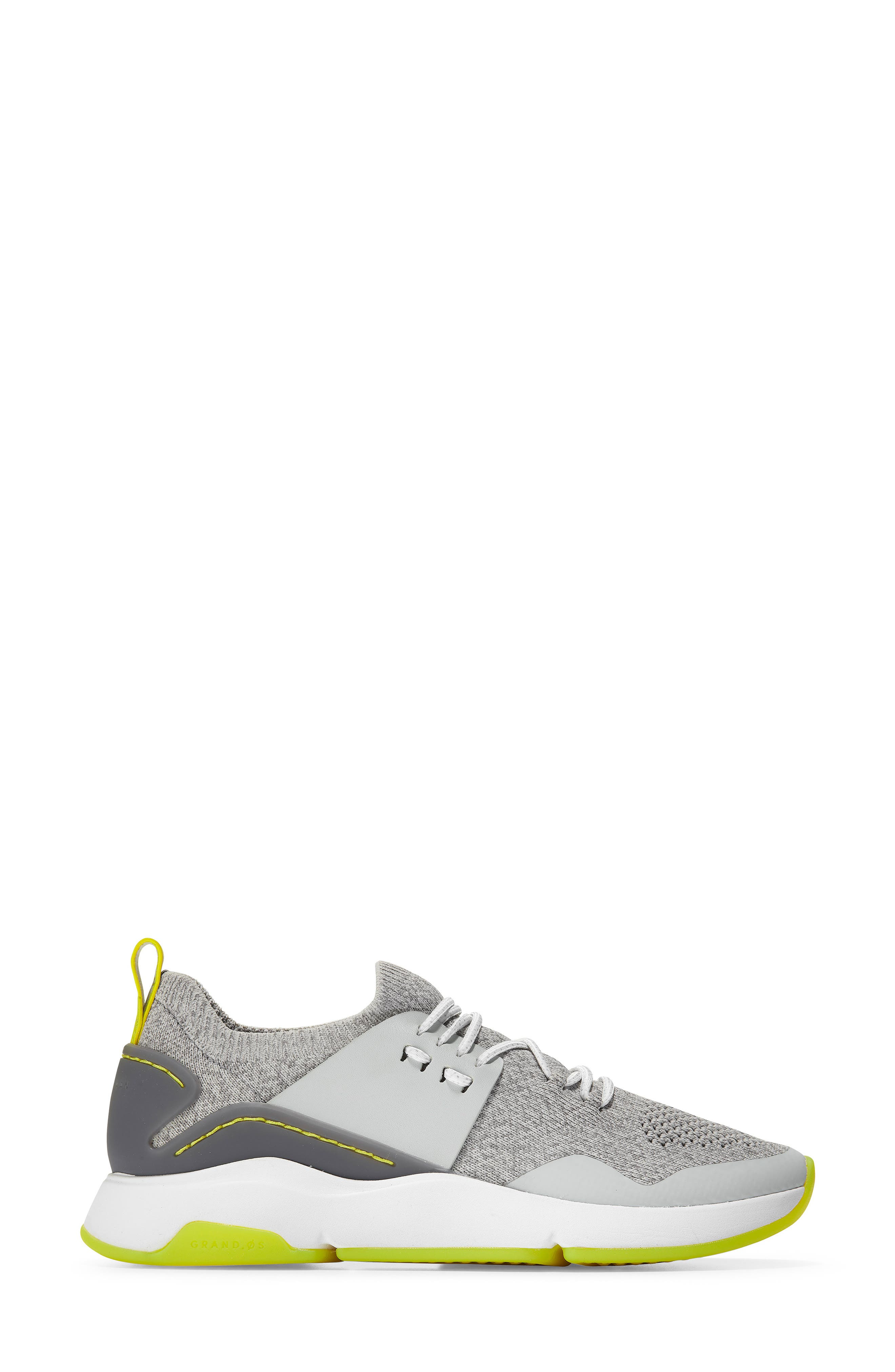 ,                             ZeroGrand All Day Trainer Sneaker,                             Alternate thumbnail 3, color,                             GREY/IRONSTONE LEATHER
