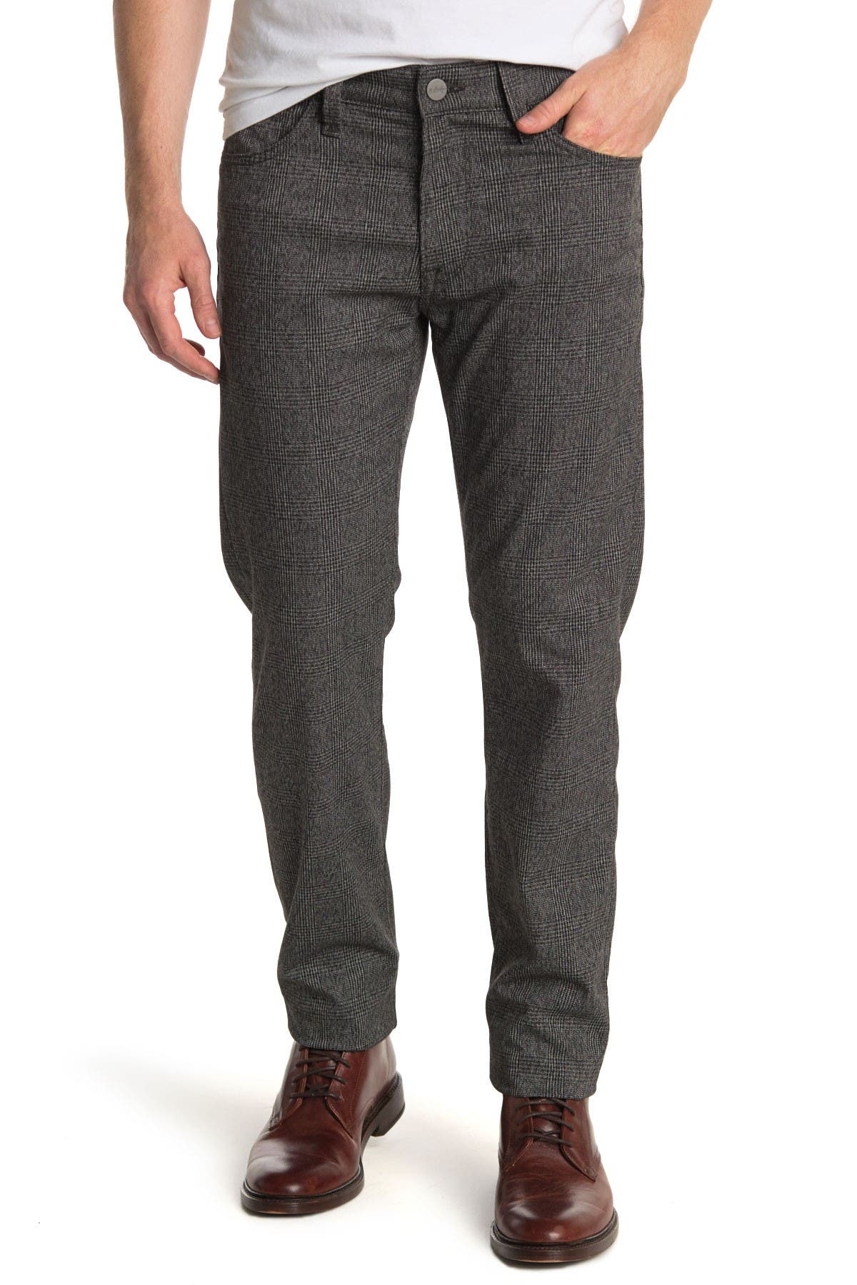 Image of 34 Heritage Courage Straight Leg Check Jeans