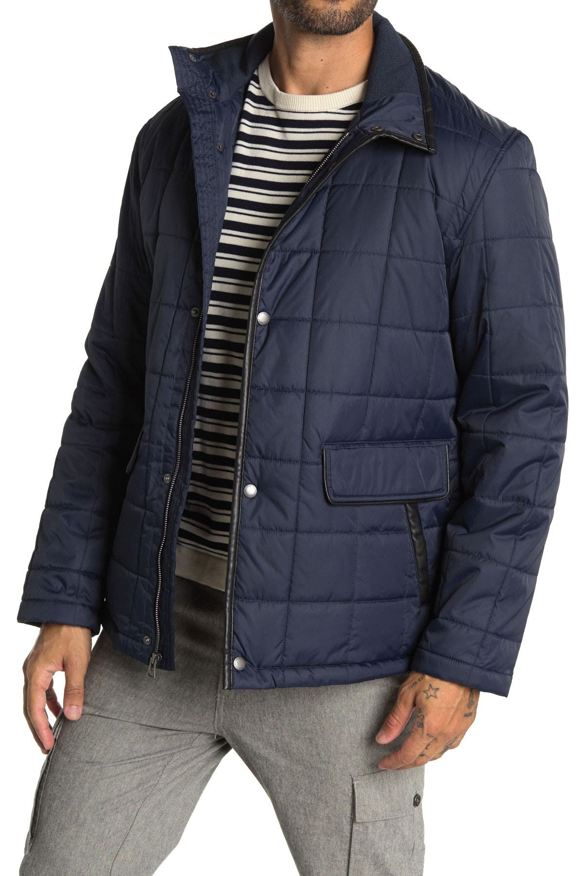 Image of Cole Haan Quilted Jacket