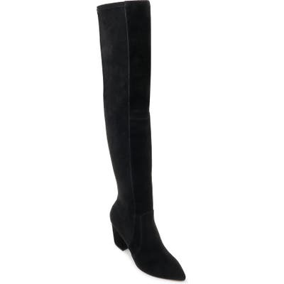 Splendid Poet Over The Knee Boot- Black