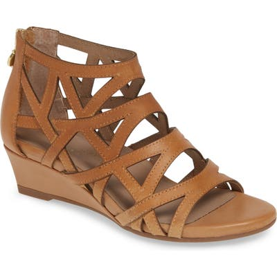 Bettye Muller Concepts Sashi Cutout Sandal, Brown