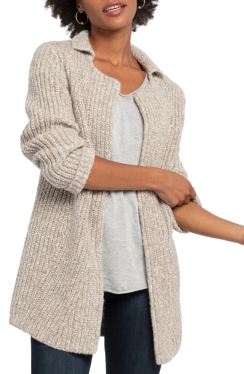 NIC+ZOE Bundle Up Cardigan, Main, color, 277