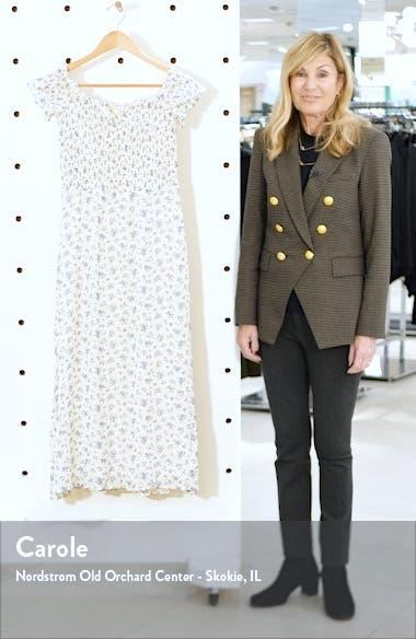Murphy Floral Off the Shoulder Dress, sales video thumbnail