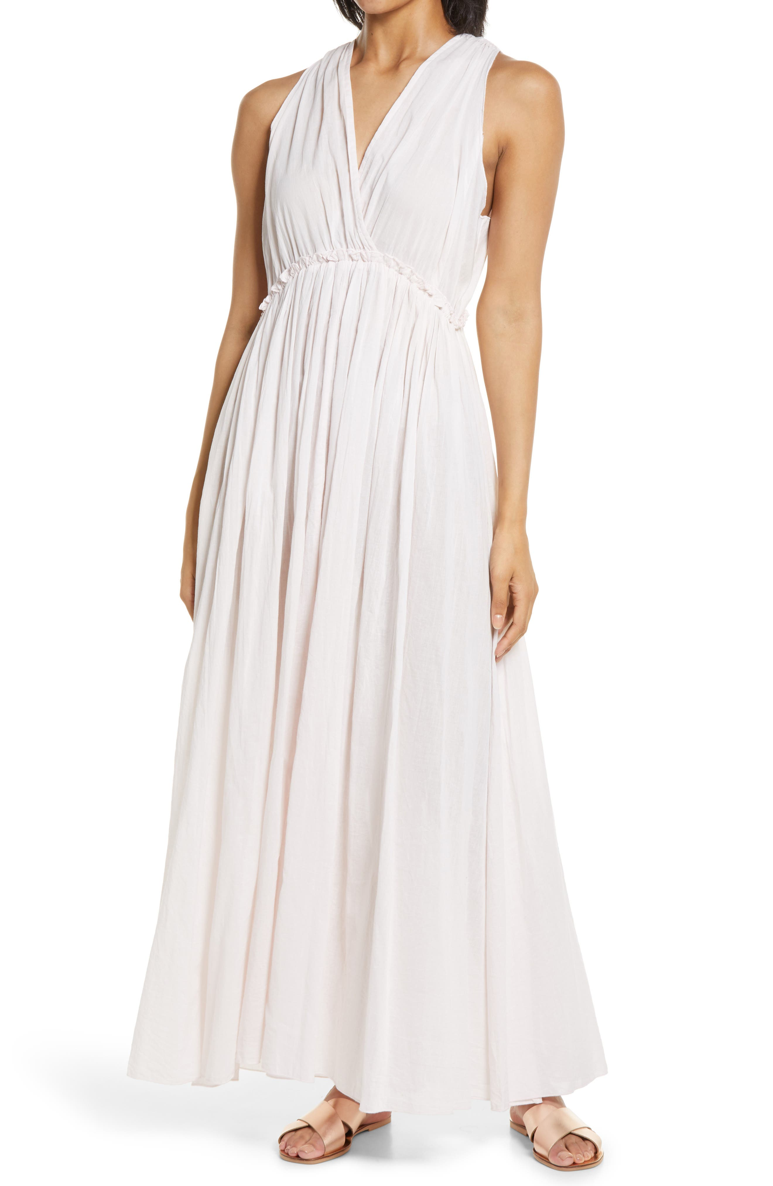 Sleeveless Crossfront Dress