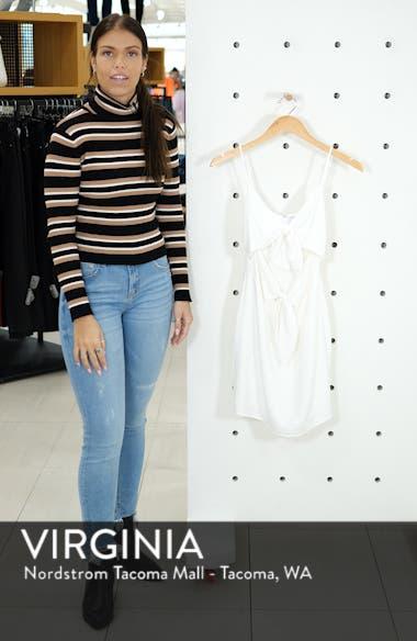 Double Tie Front Minidress, sales video thumbnail