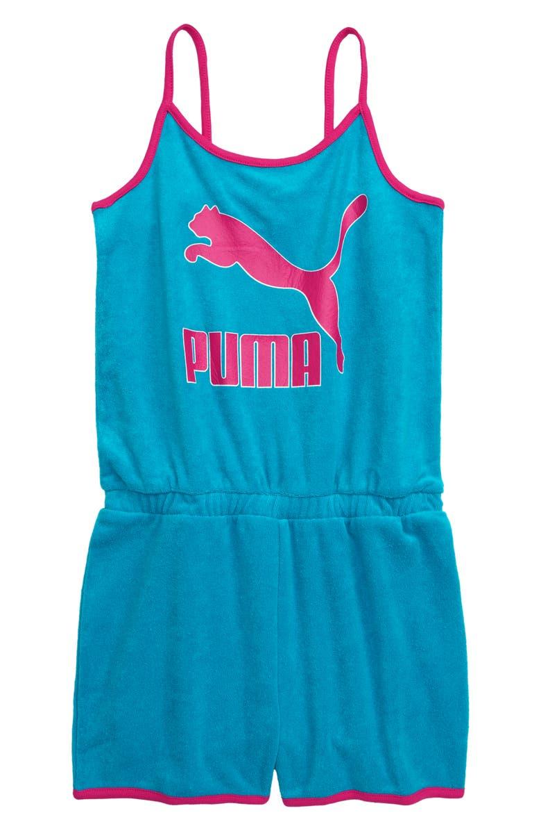 PUMA Terry Cloth Fashion Romper, Main, color, 400