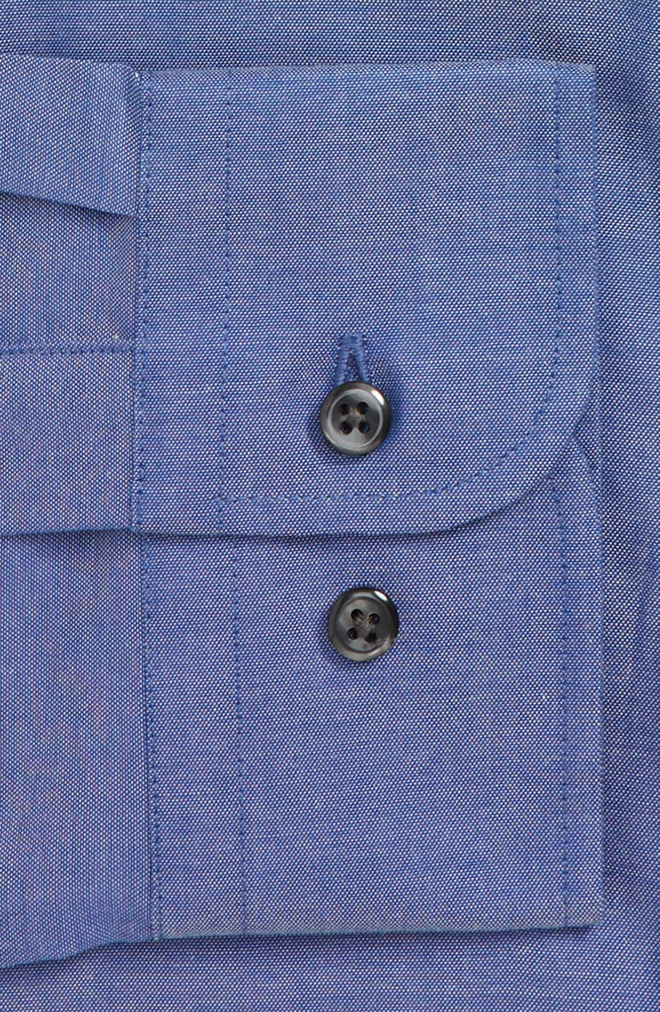 ,                             Extra Trim Fit Non-Iron Solid Dress Shirt,                             Alternate thumbnail 24, color,                             420