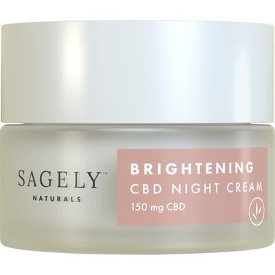 Sagely Naturals Brightening Cbd Night Cream