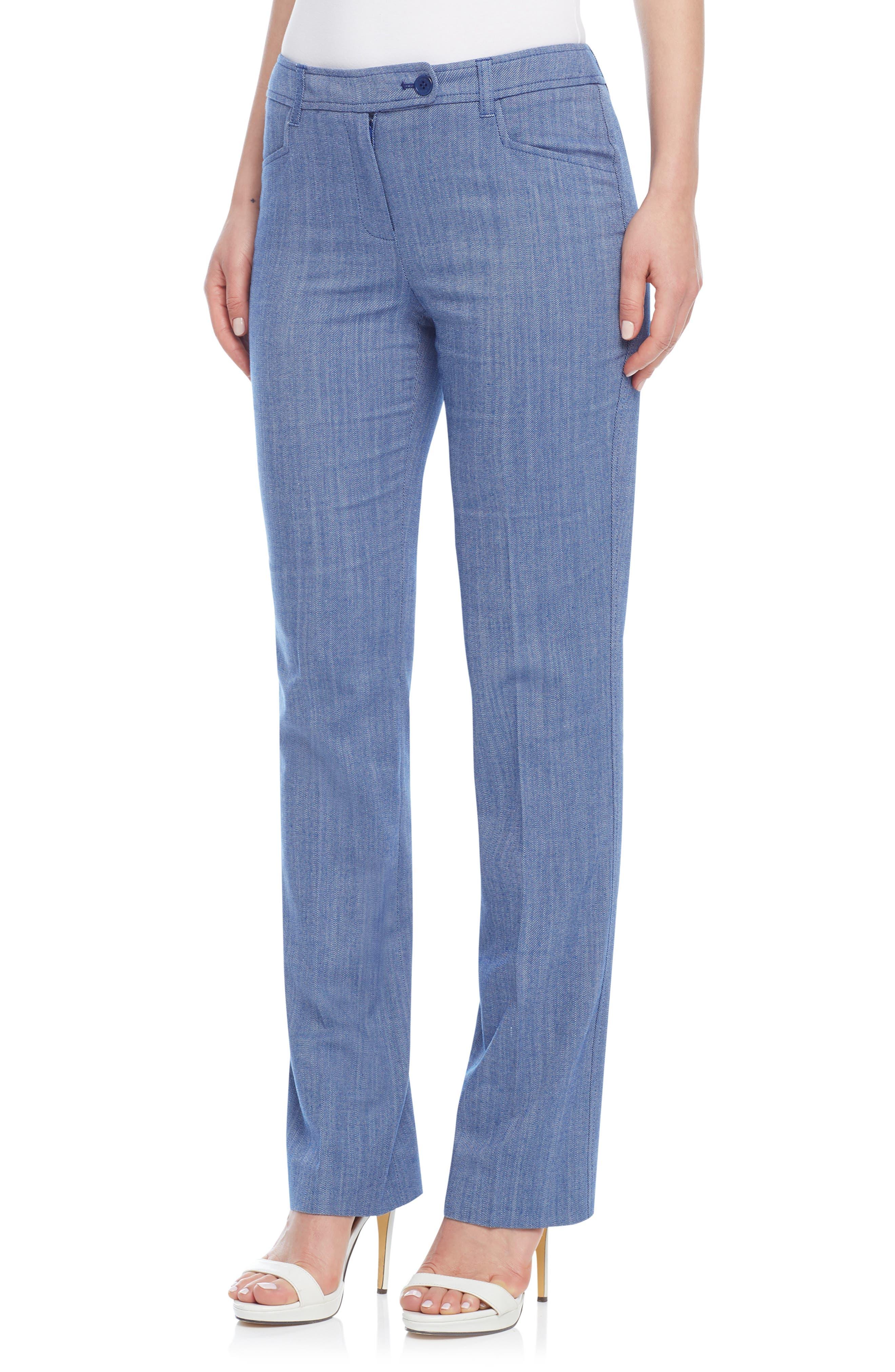 Women's Anne Klein Ridge Crest Duke Twill Pants