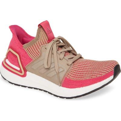 Adidas Ultraboost 19 Running Shoe- Brown