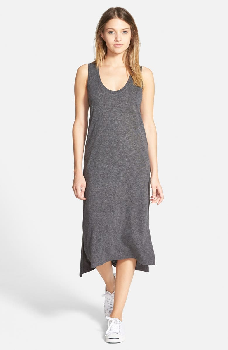 MADEWELL Jersey Tank Dress, Main, color, 020