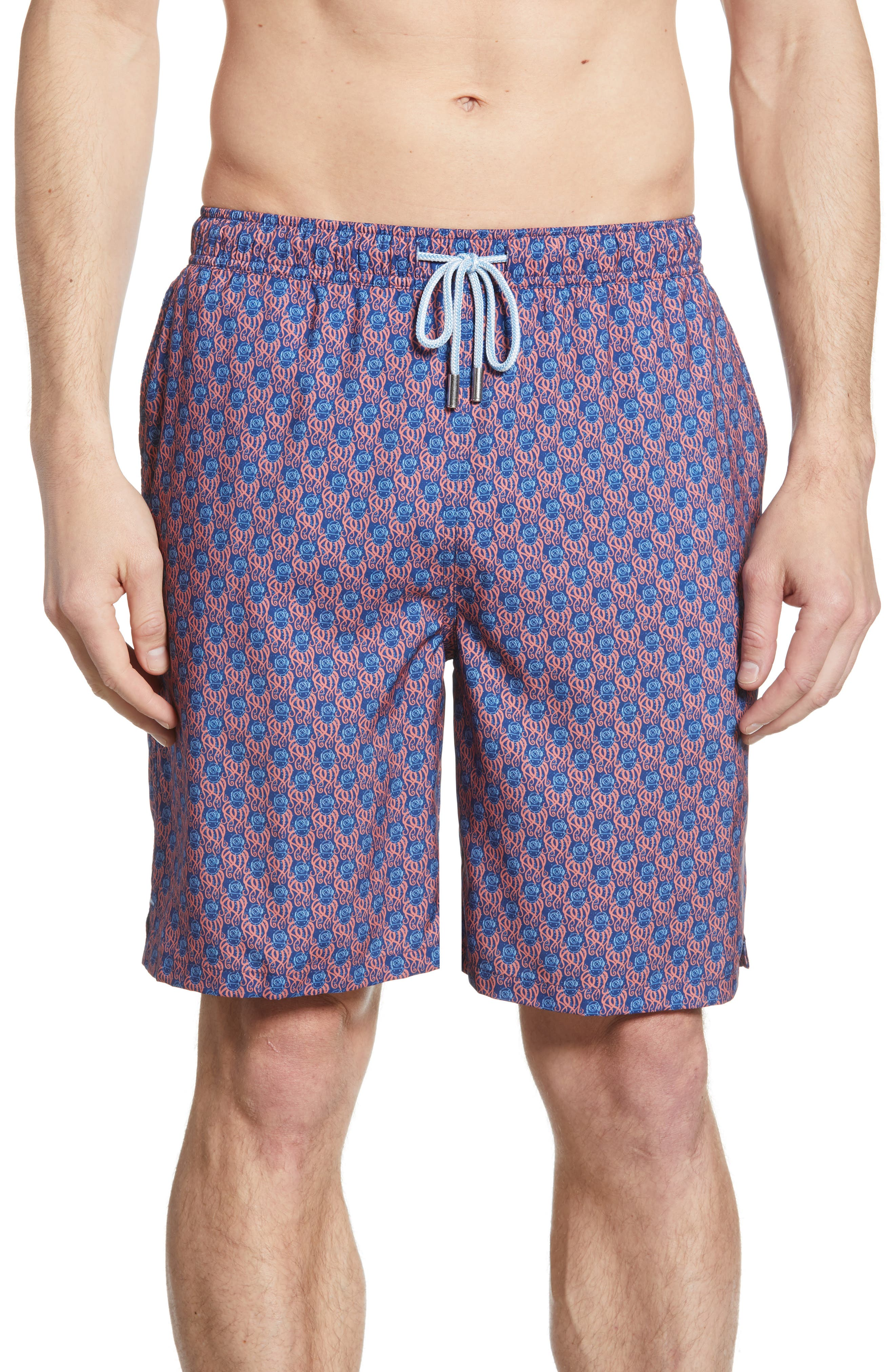Peter Millar 1000 Leagues Swim Trunks, Blue