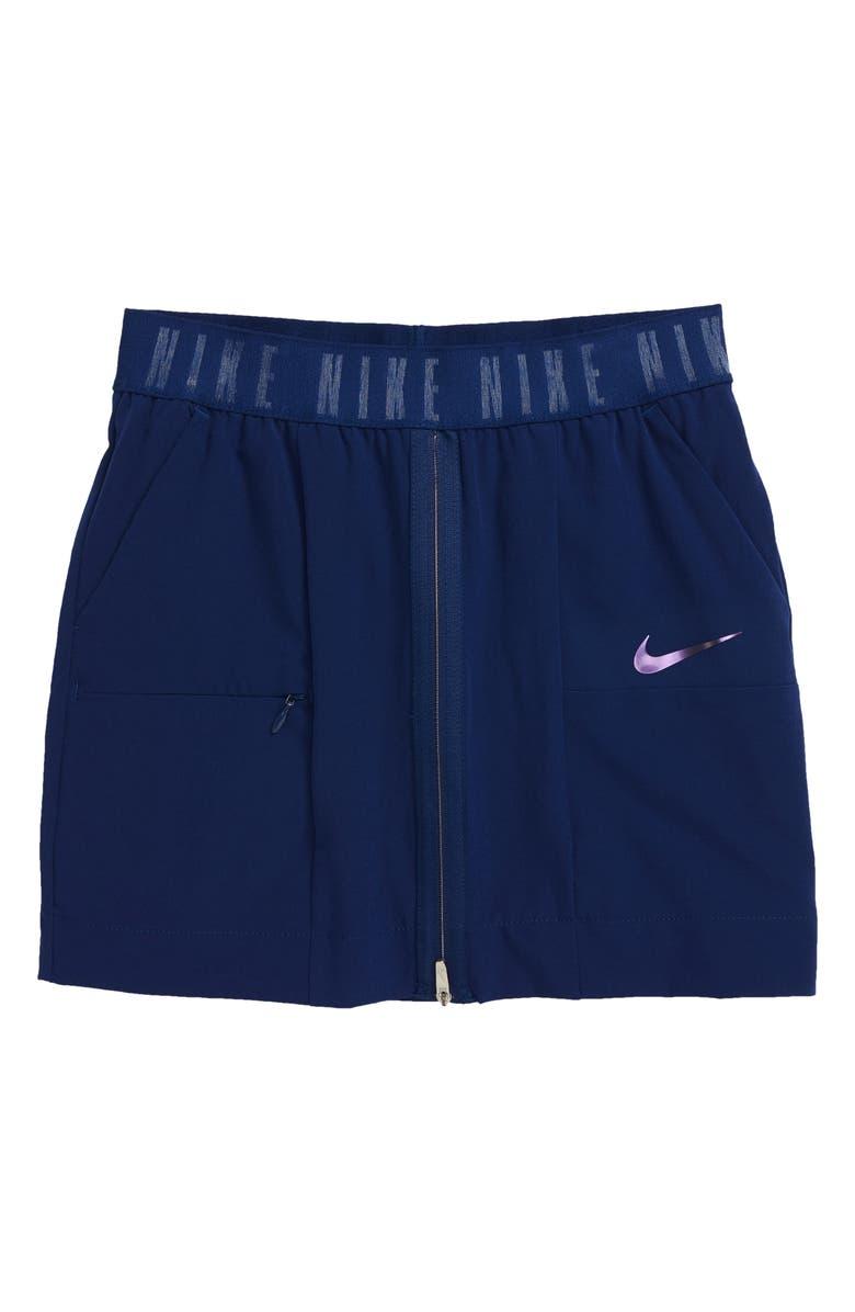 NIKE Sportswear Tech Pack Skirt, Main, color, BLUE VOID/ BLACK