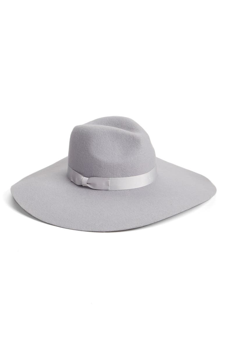 LACK OF COLOR 'Montana Silver Haze' Floppy Wool Hat, Main, color, 020
