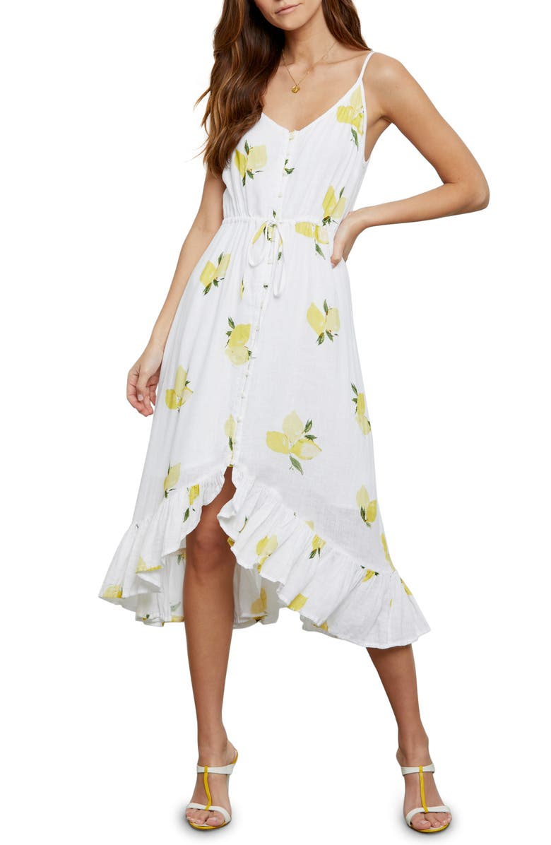 RAILS Frida Sundress, Main, color, CITRONNADE