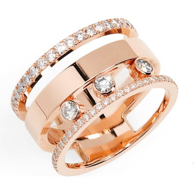 Messika Three Row Move Romane Diamond Ring
