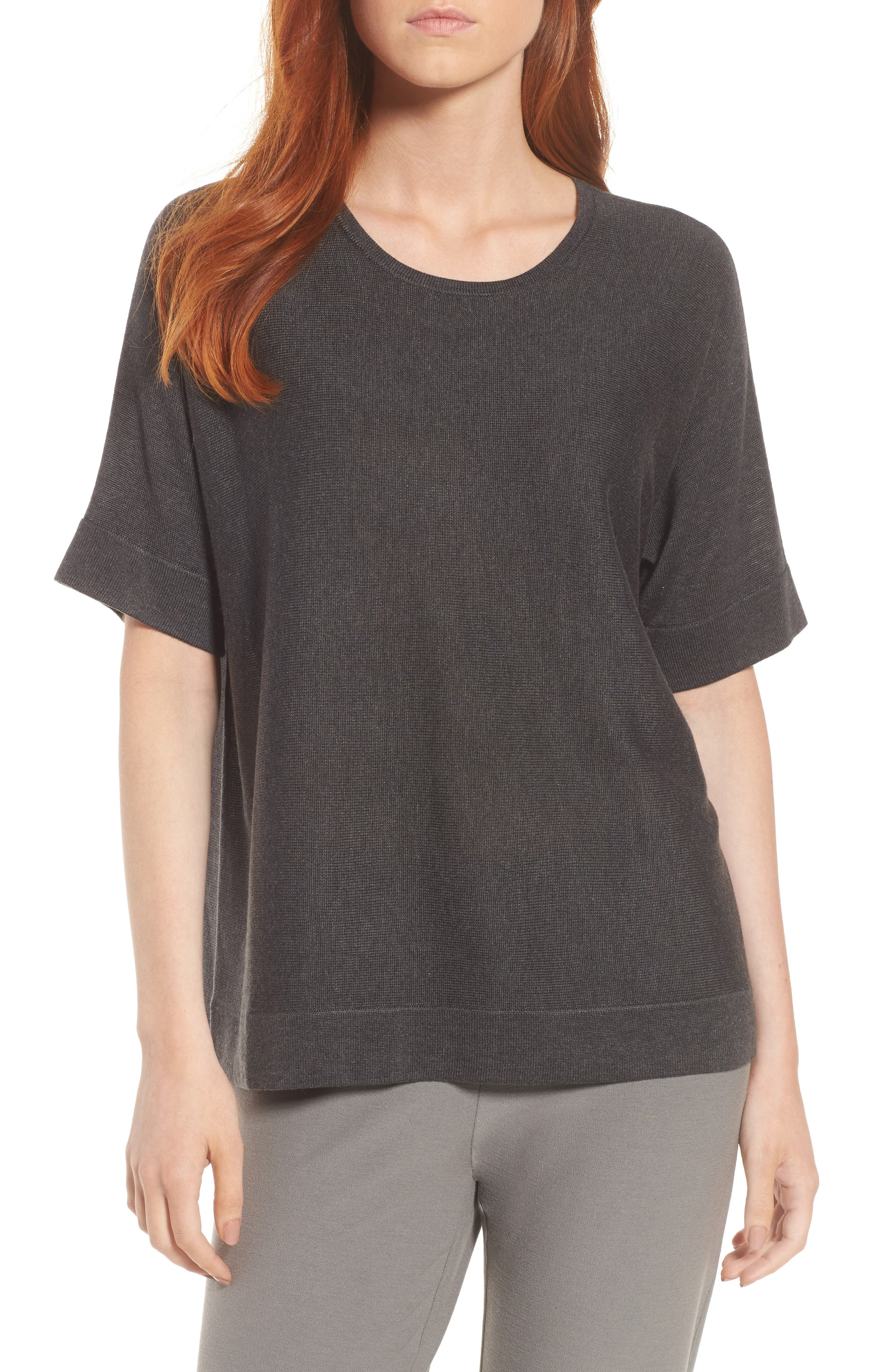 Image of Eileen Fisher Round Neck Top