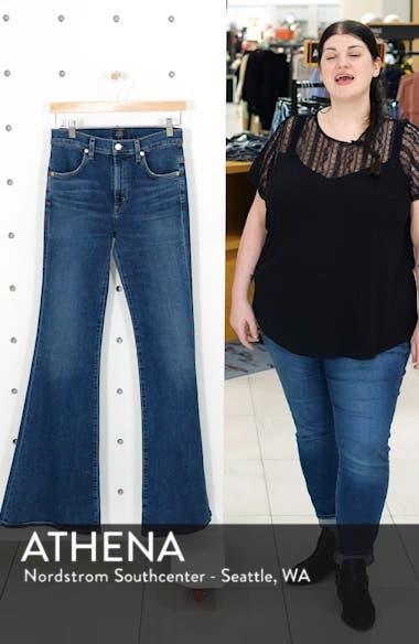 Chloe High Waist Flare Jeans, sales video thumbnail