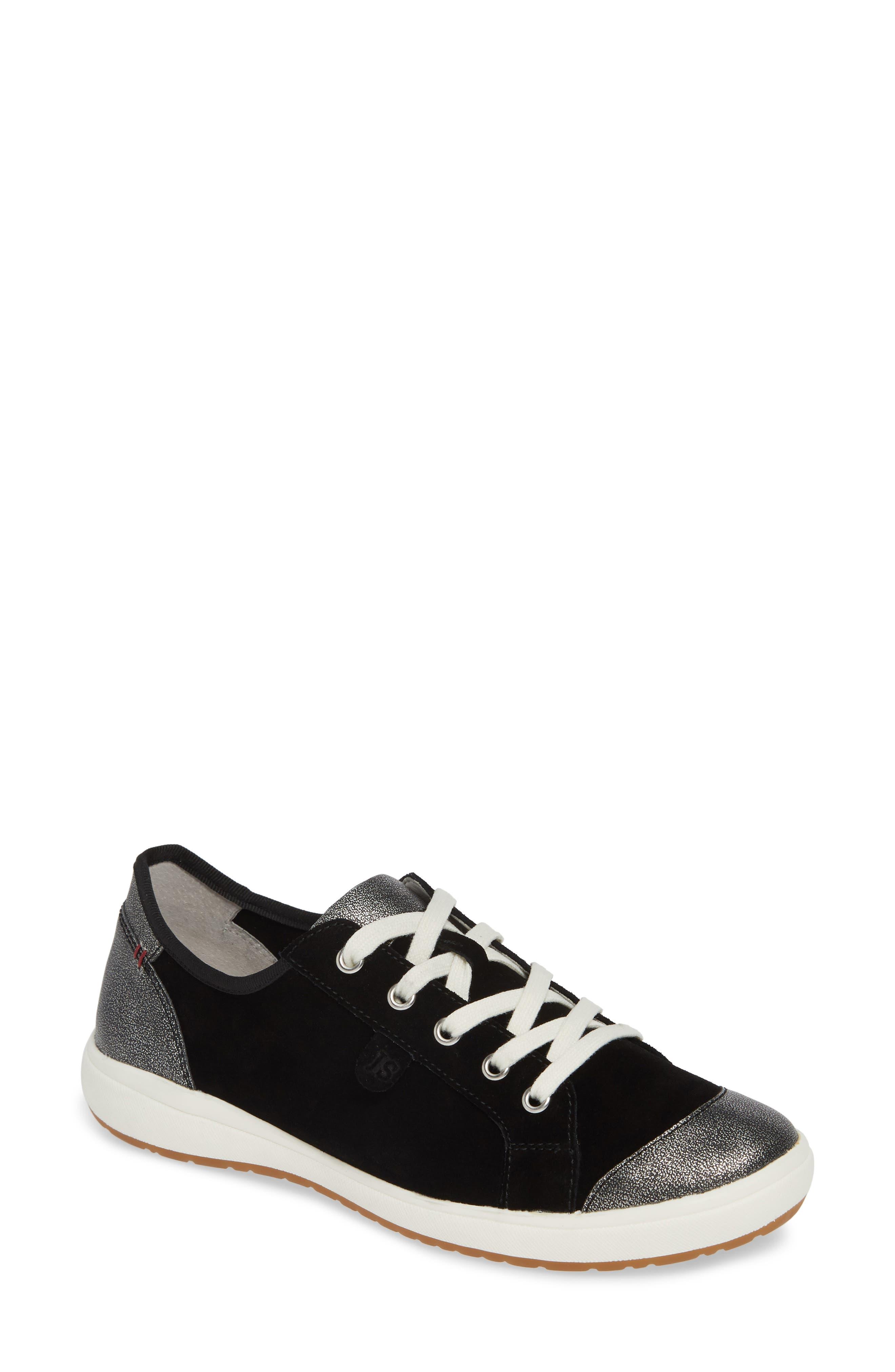 Josef Seibel Caren 08 Sneaker, Black