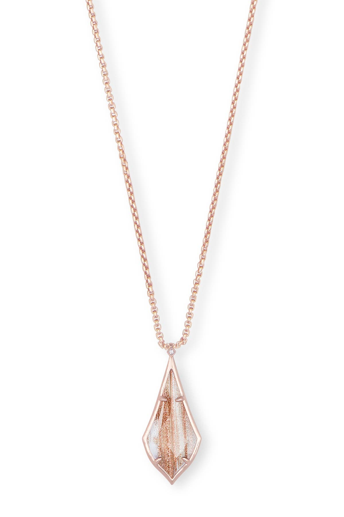 Image of Kendra Scott Olivia Long Pendant Necklace