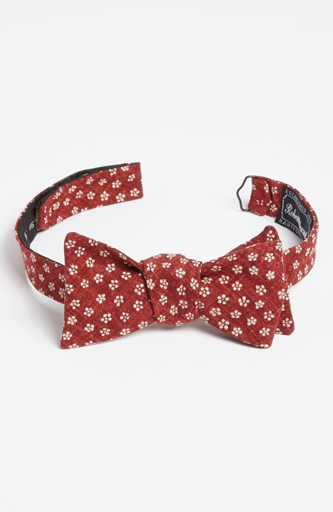 ,                             Woven Bow Tie,                             Main thumbnail 4, color,                             600