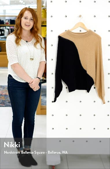 Colorblock Sweater, sales video thumbnail