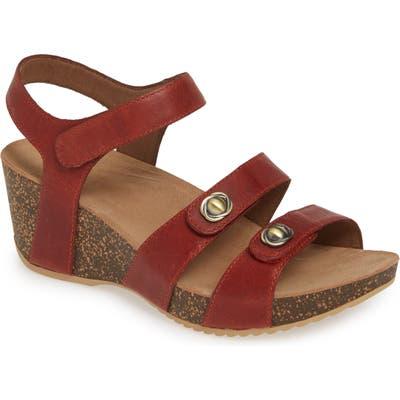 Dansko Savannah Wedge Sandal - Red