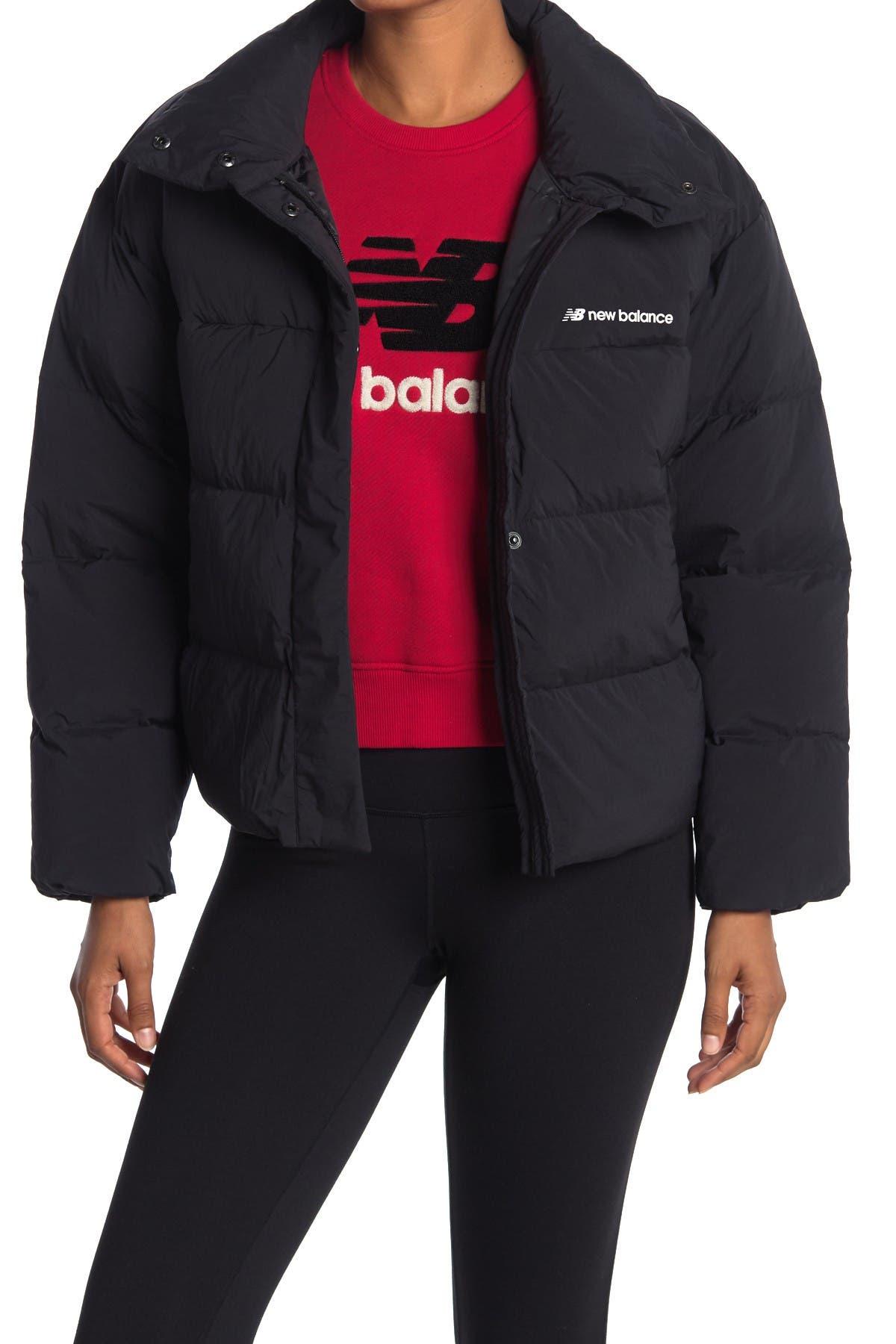Image of New Balance Select Cropped Heat Down Jacket