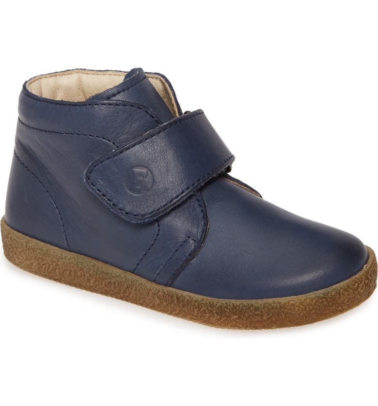 NATURINO Conte VL Chukka Boot, Main, color, NAVY LEATHER