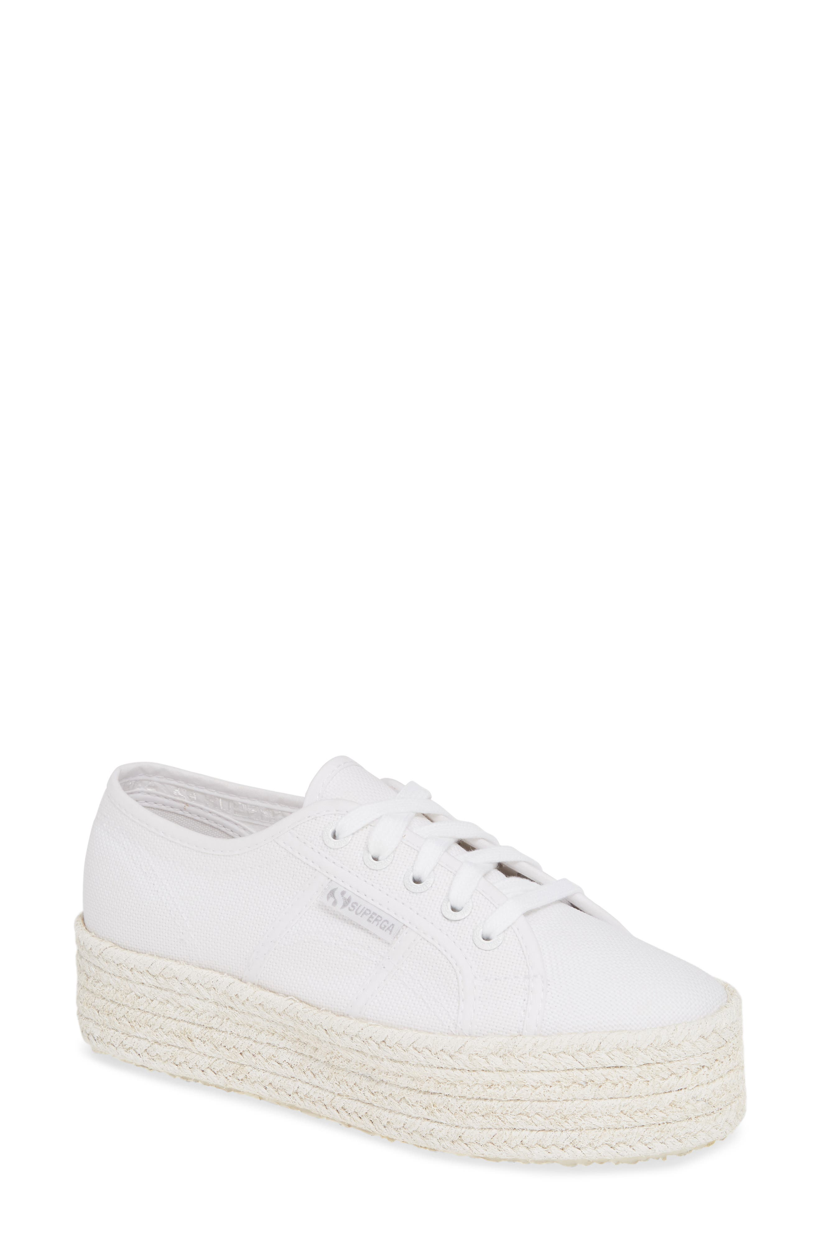 Superga Shoes Cotcoloropew Espadrille Sneaker