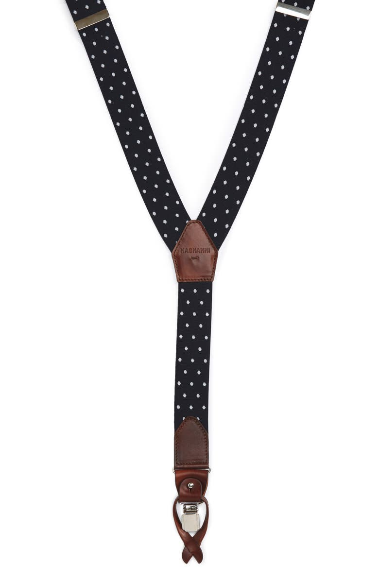 MAGNANNI Lincoln Suspenders, Main, color, 410