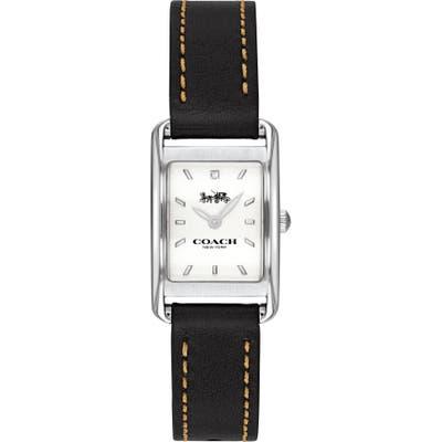 Coach Allie Leather Strap Watch, 22Mm