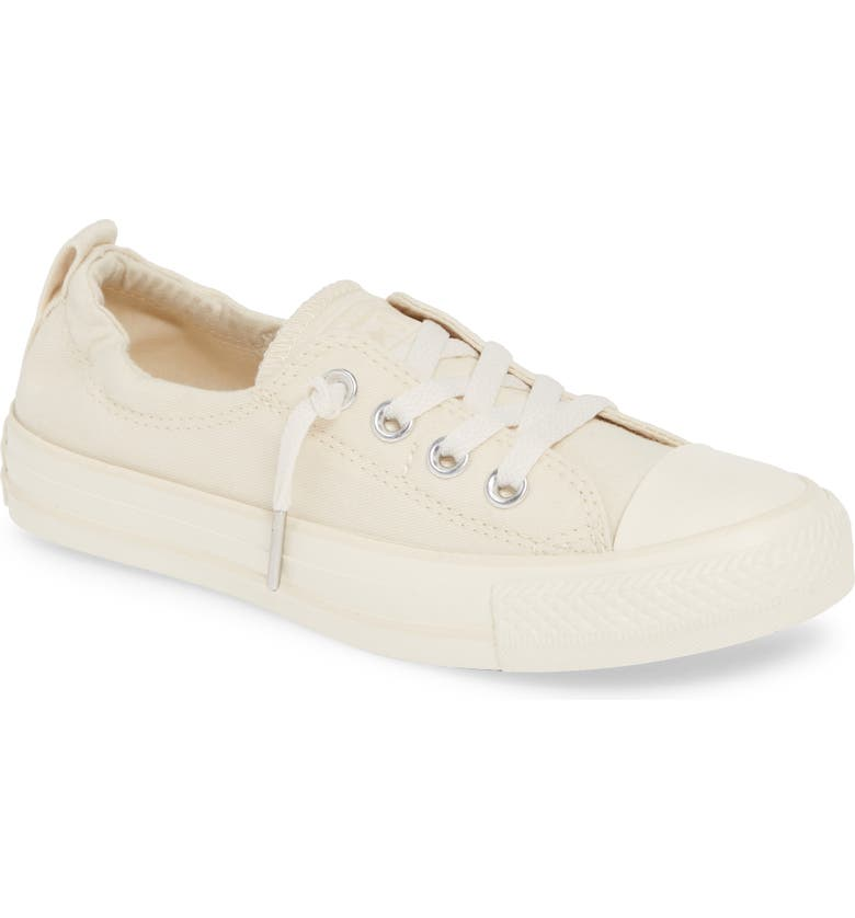 CONVERSE Chuck Taylor<sup>®</sup> All Star<sup>®</sup> Shoreline Low Top Sneaker, Main, color, NATURAL IVORY/ EGRET/ EGRET