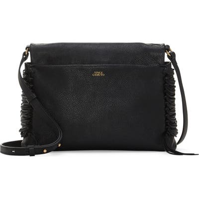 Vince Camuto Jayde Leather Crossbody Bag - Black