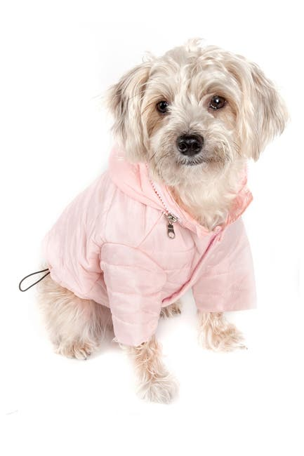 Image of PETKIT Extra Large Pink Sporty Avalanche Dog Coat